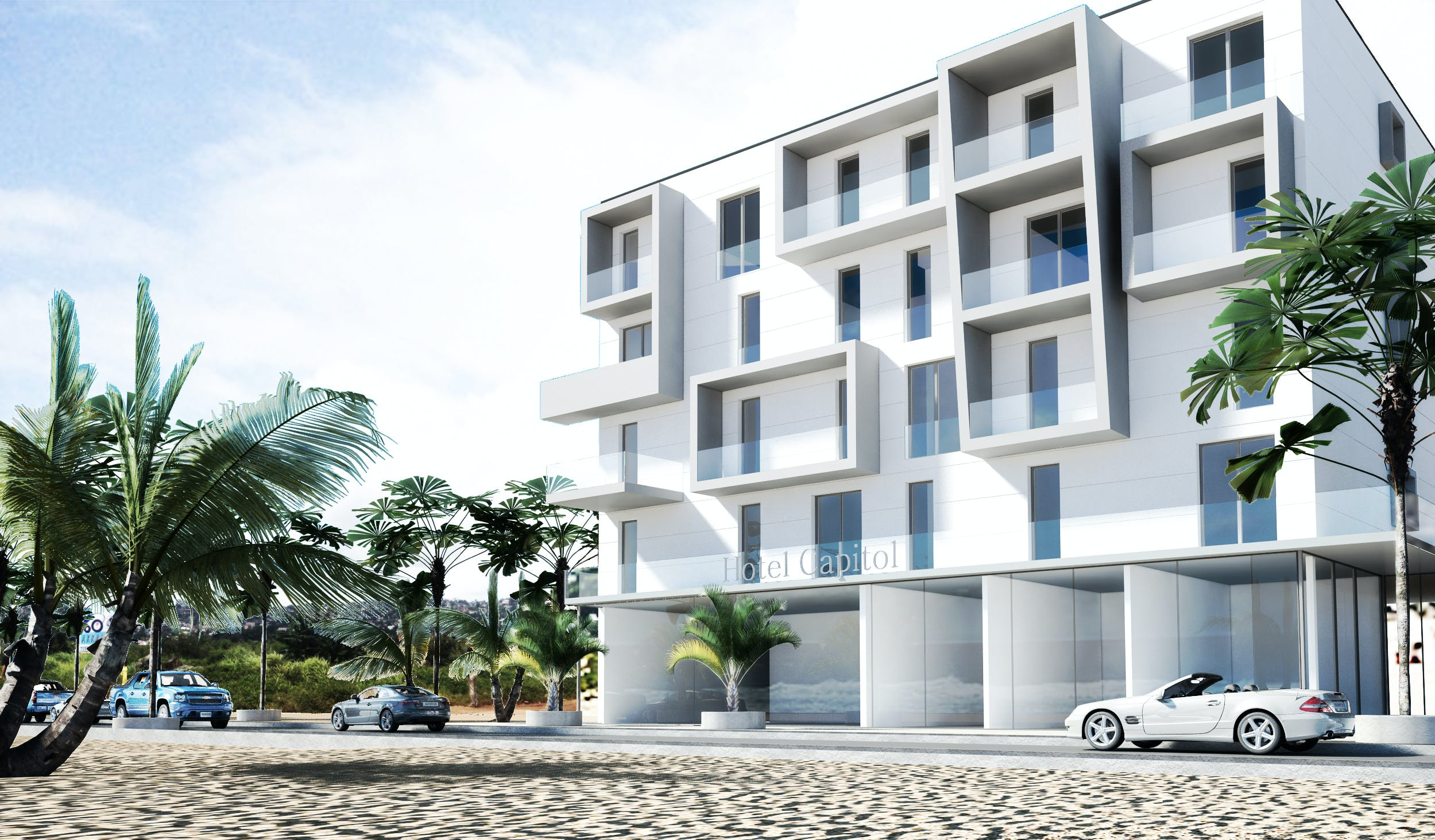Prefab Hotel Sierra Leone Margherita Cesca Archinect
