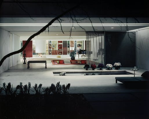 Eero Saarinen, Miller House. Columbus, Indiana, 1957. Photographer Ezra Stoller. © Ezra Stoller/Esto.