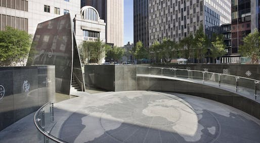 Oct 29: African Burial Ground Memorial, Architects: Rodney Leon / AARRIS Architects, Photo courtesy of Rodney Leon Architects.