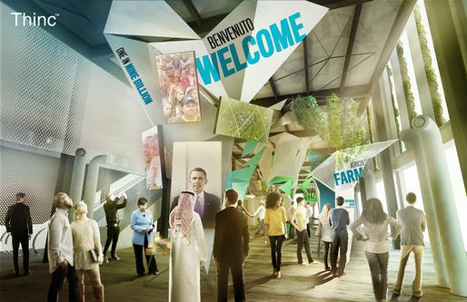 Expo Milano 2015 - Boardwalk Level Exhibits: Welcome. Copyright © 2015 Thinc Design. All rights reserved.