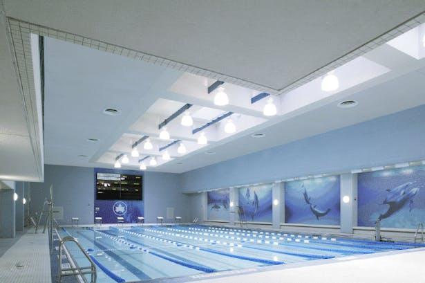 The Chelsea Recreation Center pool.