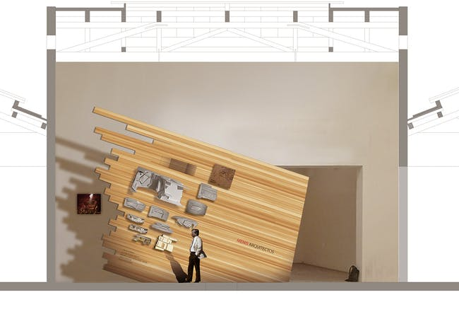 INTO THE WALL (Image: Menis Arquitectos)