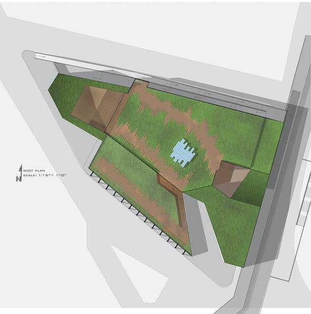 Roof Plan: (+4)