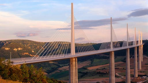 2004 - Millau Viaduct, France. Photo credit: Foster + Partners