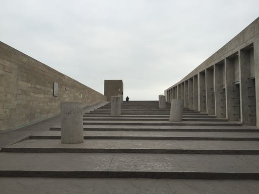 Lugar de la Memoria la Tolerancia y la Inclusión Social (Place of Memory, Tolerance and Social Inclusion), 2015, Lima, Peru. Photo: Marielsa Castro Vizcarra. From the 2018 Graham Foundation Individual Grant to Marielsa Castro Vizcarra for 'The (Other Forms of) Architecture of Memory in Latin...