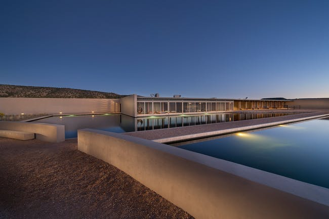 A room with a vista: Tadao Ando's compounds for Tom Ford. Image: kevinbobolskygroup.com