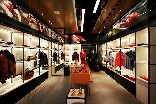 Ferrari Store Maranello - Lifestyle Area 1