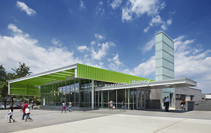 Anacostia Library © Mark Herboth Photography