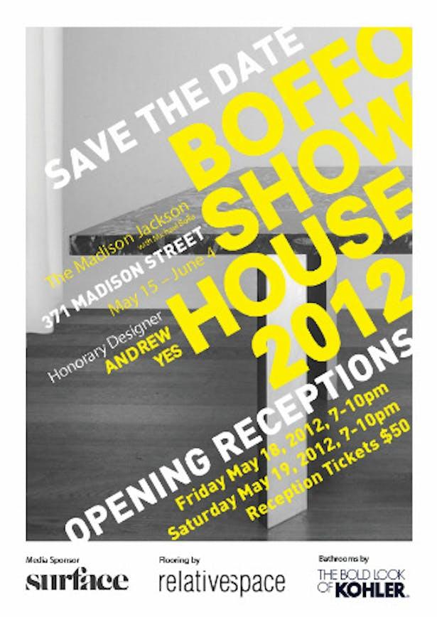 BOFFO NY Show House 2012