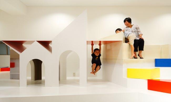 Pixy Hall an interior:hall by Moriyuki Ochiai