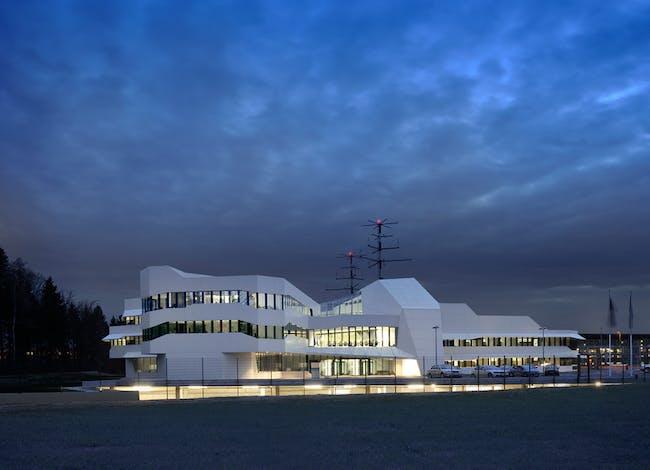 Air Traffic Control Center by SADAR+VUGA. Photo: Miran Kambic.