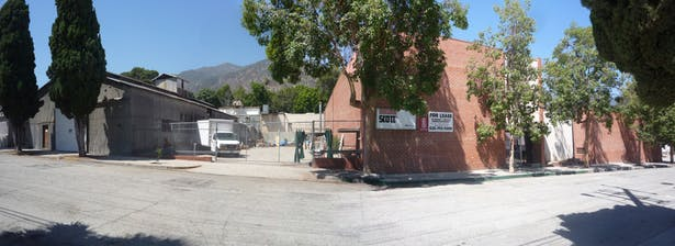 Panorama of Existing Cannery and Manufacturing Plant