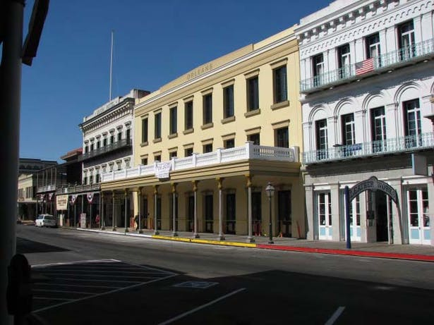 The Orleans; reconstruction of Historic Facade approx 1855
