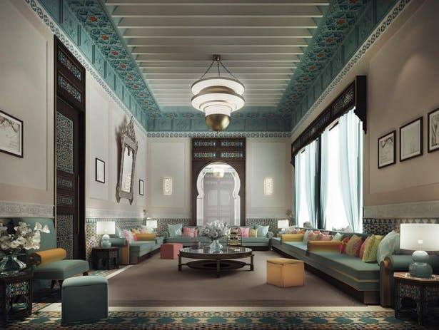 Thriving Legacy Through Luxurious Moroccan Majlis Interior