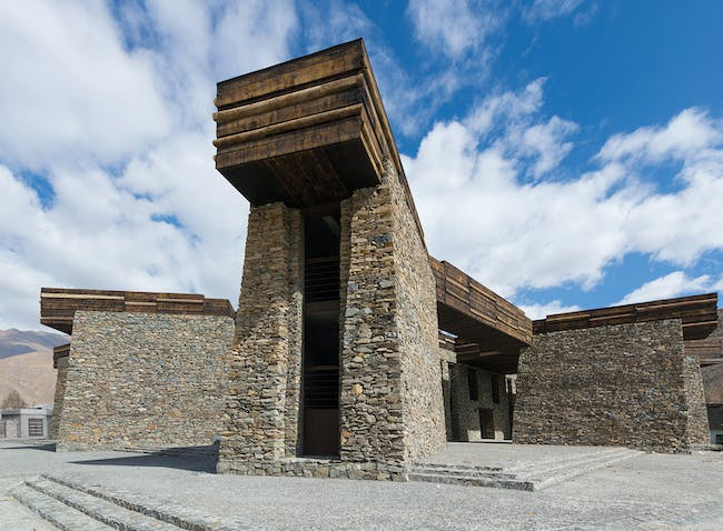 Shortlisted in the Display Category: Jianamani Visitor Centre in China by Teamminus (Photo courtesy of World Architecture Festival)