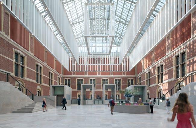 Rijksmuseum in Amsterdam, The Netherlands by Cruz y Ortiz Arquitectos. Photo: Duccio Malagamba Fotografía de Arquitectura.