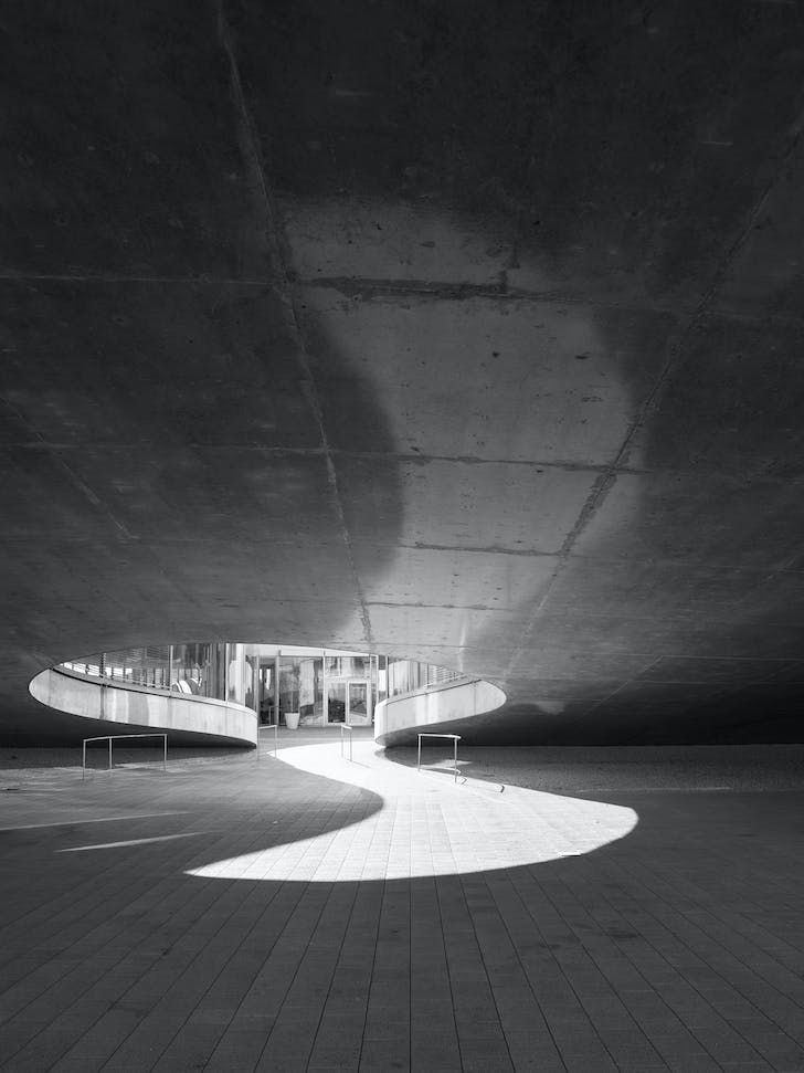 Rolex Learning Center, Lausanne by SANAA