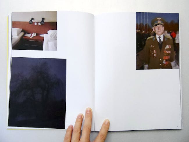 Pages 24-25. Arnis Balcus' photo essay Victory Park. Riga and the Other.