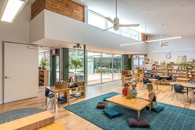 Khabele Elementary Expansion in Austin, TX by Derrington Building Studio; Photo: Peter Molick Photography