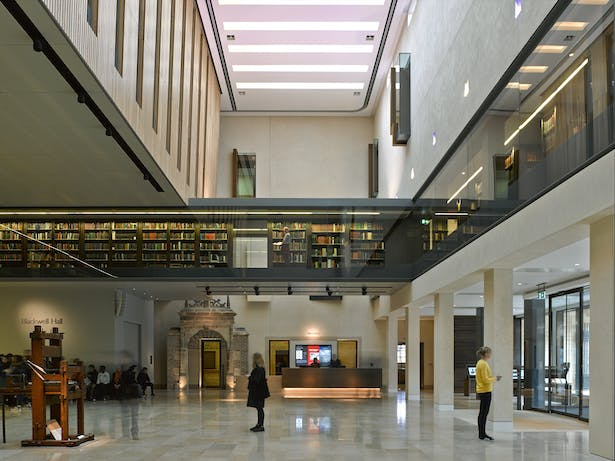 Weston Library - View of Blackwell Hall
