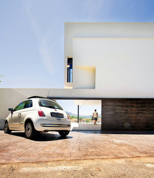 Bote Becedas House in Baños de Montemayor, Spain by GEA Architects