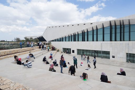 The Palestinian Museum. Image courtesy of Heneghan Peng Architects.