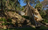 A closer look into the cave-like Cabbage Tree House by Peter Stutchbury Architects