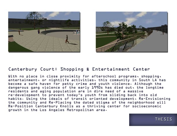Renderings and Vision Statement