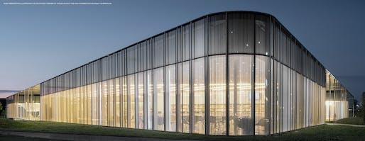 The Springdale Library & Komagata Maru Park, Brampton, ON, RDH Architects (RDHA). Photo: Nic Lehoux
