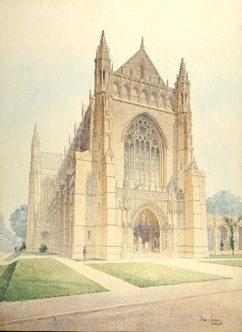 Princeton And The Gothic Revival 1870 1930 Investigates Americans Changing Attitudes To Art Architecture Style Of Middle Ages Through