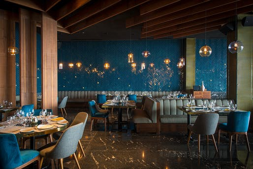 Frida Restaurant, Cabo San Lucas, Mexico. Designed by: Ezequiel Farca + Cristina Grappin. Photo: Jaime Navarro​