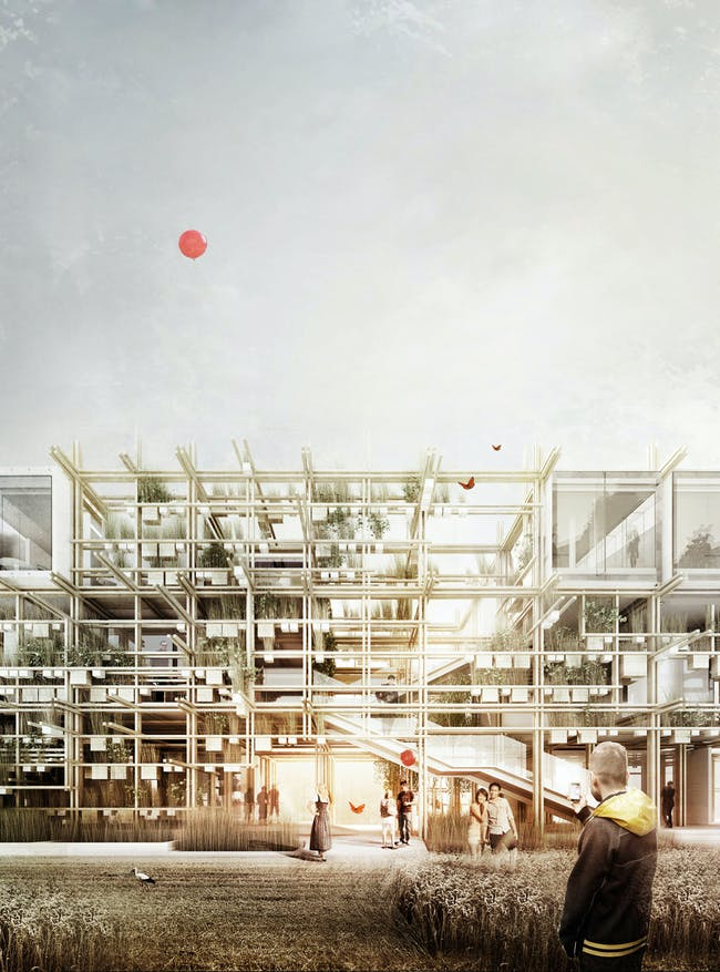 Austrian Pavilion for Expo 2015 by Chris Precht (penda) and Alex Daxböck. Image courtesy of Chris Precht and Alex Daxböck