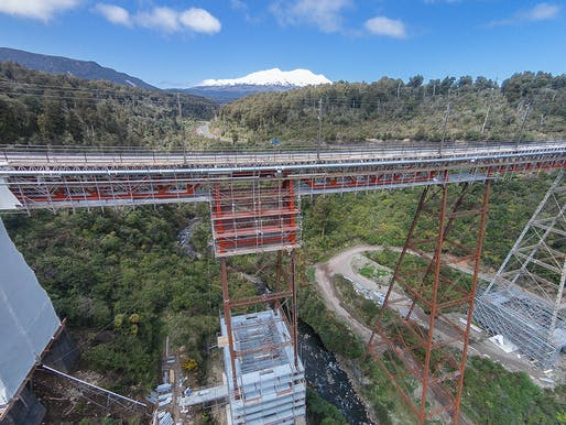 Rejuvenation of the heritage Makatote rail viaduct. Structural Designer: Opus International Consultants. Architect: Heritage New Zealand​. Image courtesy of 2017 Structural Awards