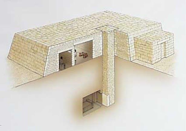 Mastaba (truncated pyramid)