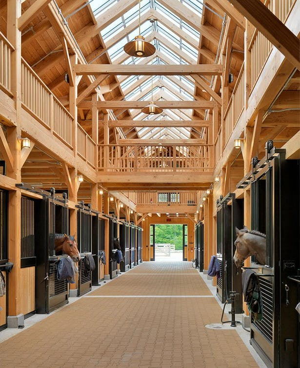 Beechwood Stables Marcus Gleysteen Architects Archinect