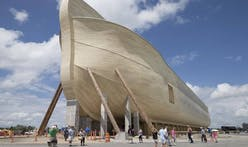 "Noah's Ark replica opens in Kentucky biblical theme park to ""compete with the Disneys and the Universals"""