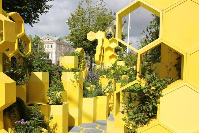 Bee Connected in Gothenburg, Sweden by MARELD with Chalmers Architecture, White Arkitekter, Howe & White