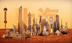 Plan Of The City - Skyscrapers on Mars