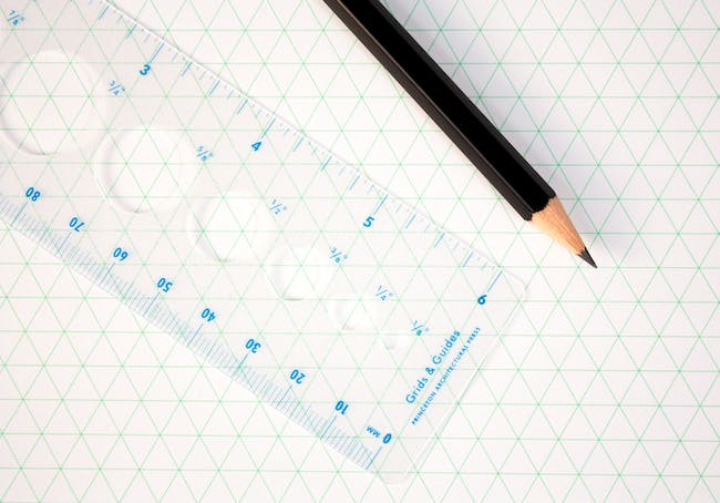 Grids & Guides 12 Pencils for Visual Thinkers. Photo courtesy of Princeton Architectural Press.