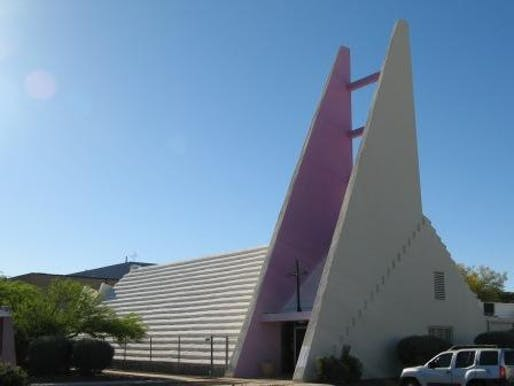 Faith Lutheran Church designed by architect Arthur Brown via MAPP