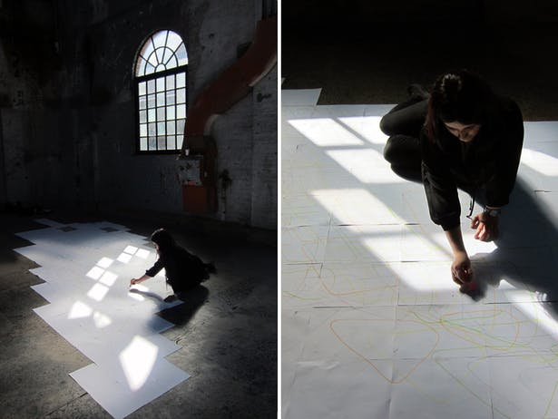 Mapping light at the CarriageWorks