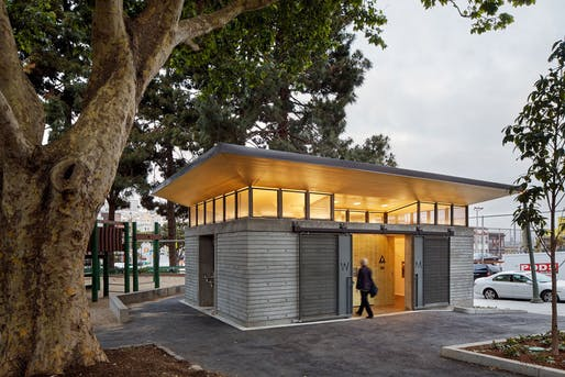 Special Commendation - Social Responsibility: Washington Square Convenience Station by Paulett Taggart Architects. Photo: Bruce Damonte.