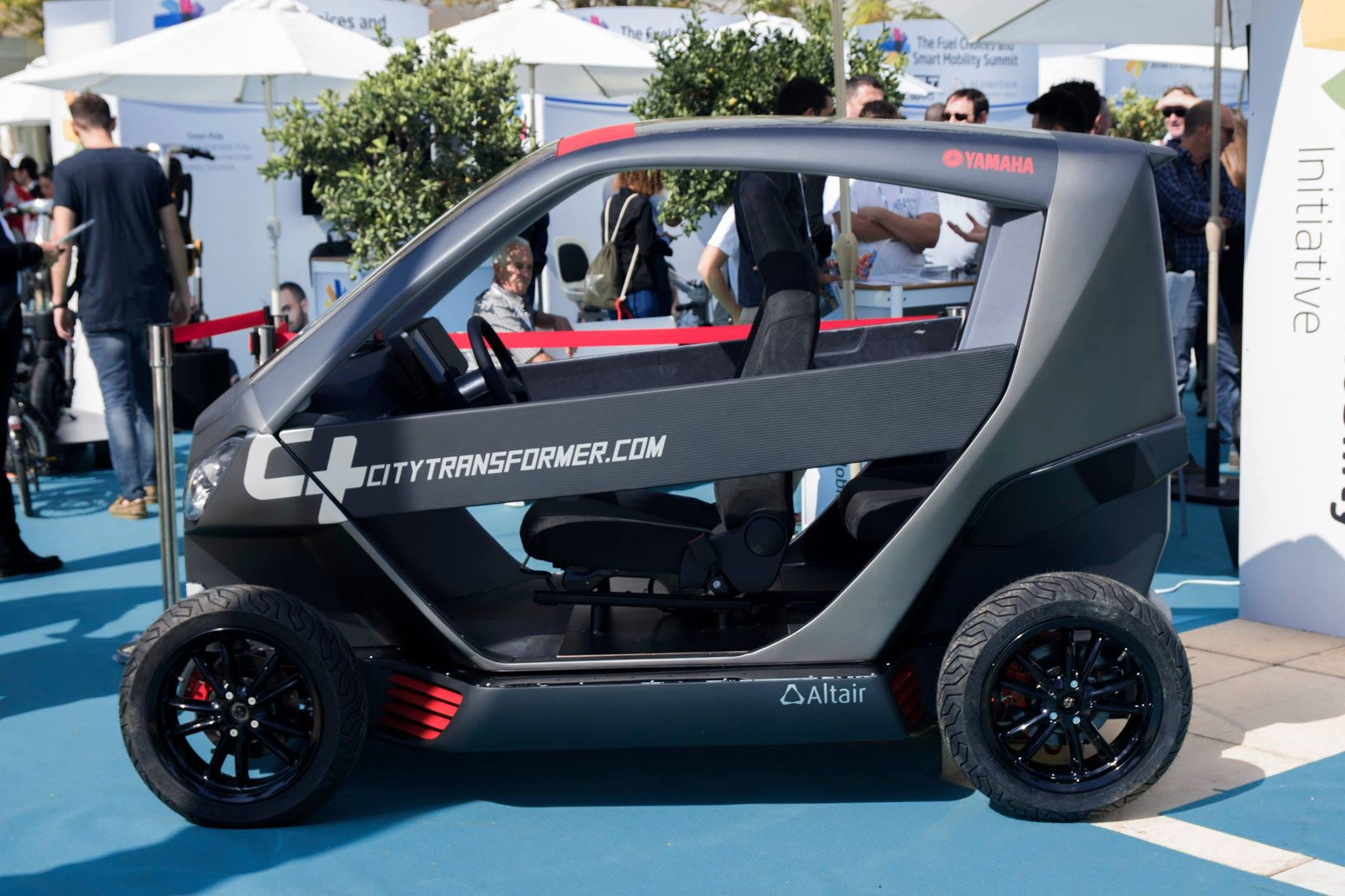 is city transformer's new folding car the answer to our parking