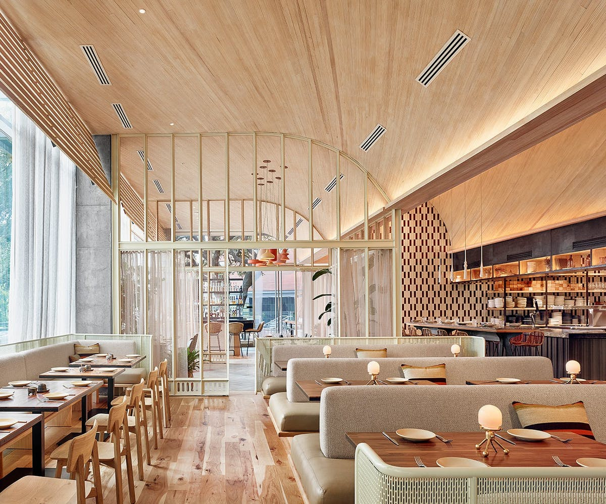Feast your eyes on the aia la restaurant design award
