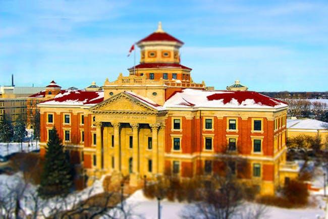 The University of Manitoba. Credit: Wikipedia