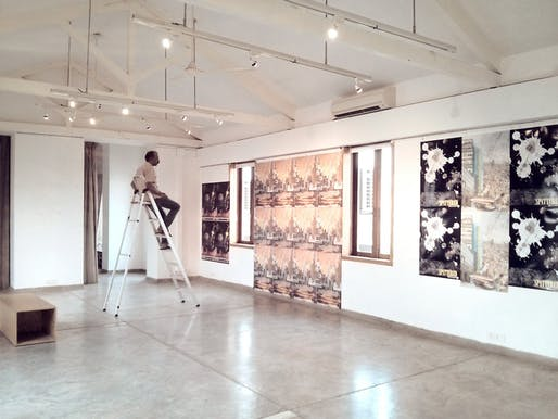 Mumbai Anthropocene pop-up exhibit at Studio X