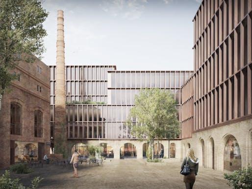 Courtesy of Schmidt Hammer Lassen Architects.