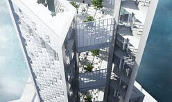 Cloud-harvesting skyscraper: renderings of proposed new sustainable Tokyo development