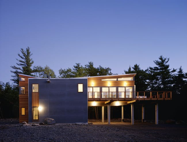 Mountain Retreat in Kerhonkson, NY by Resolution: 4 Architecture (Photo: Floto & Warner)