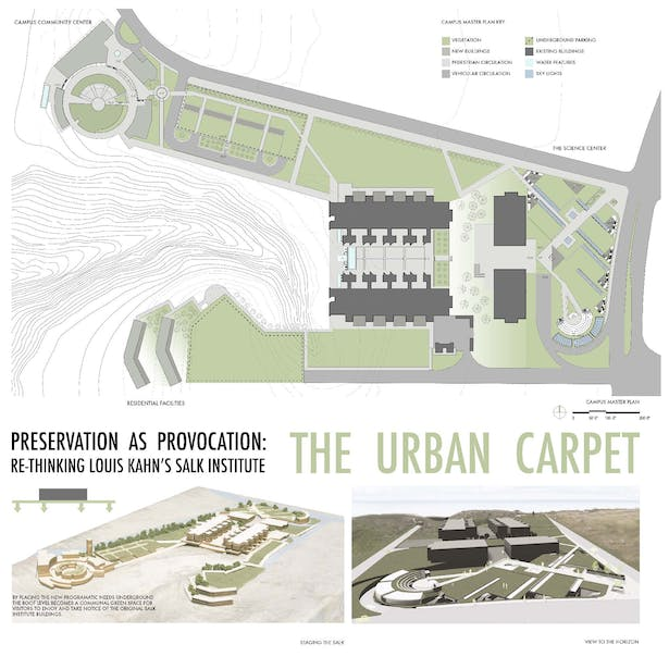 The Urban Carpet An Addition To The Salk Institute